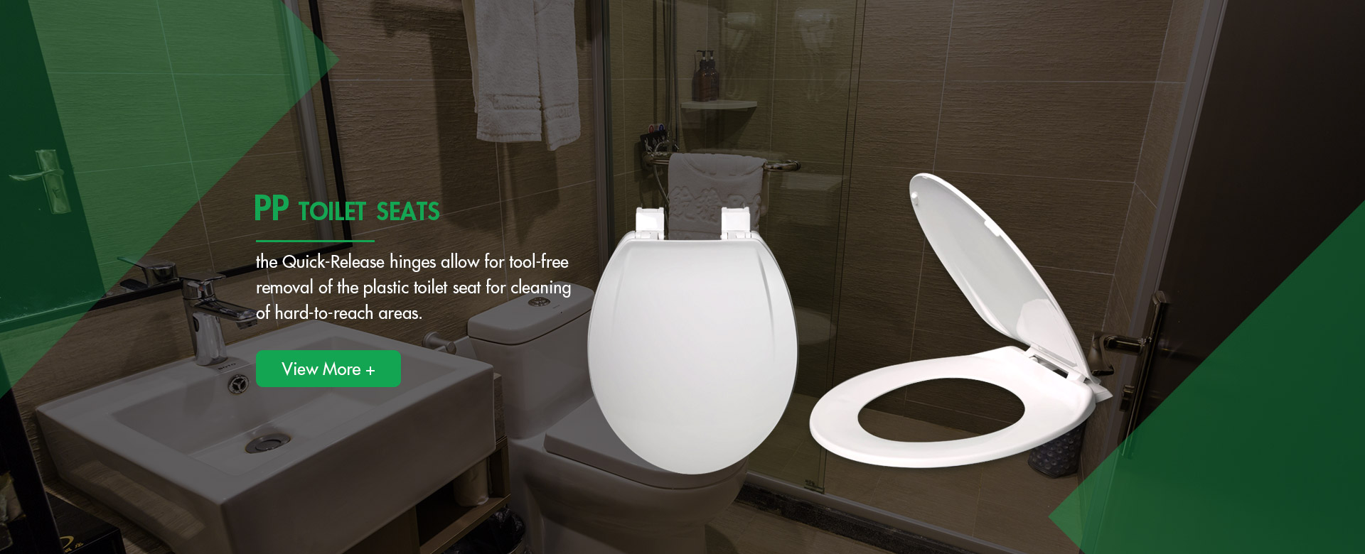 PP toilet seat