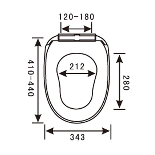 PP Toilet Seat YX-1058