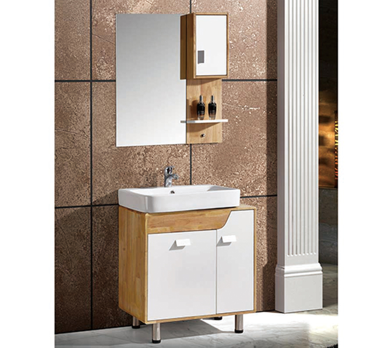 How To Check And Accept Solid Wood Bathroom Cabinet?