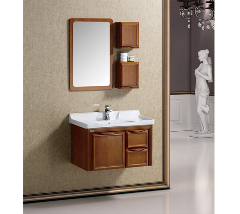 What Are The Types Of Solid Wood Bathroom Cabinets?