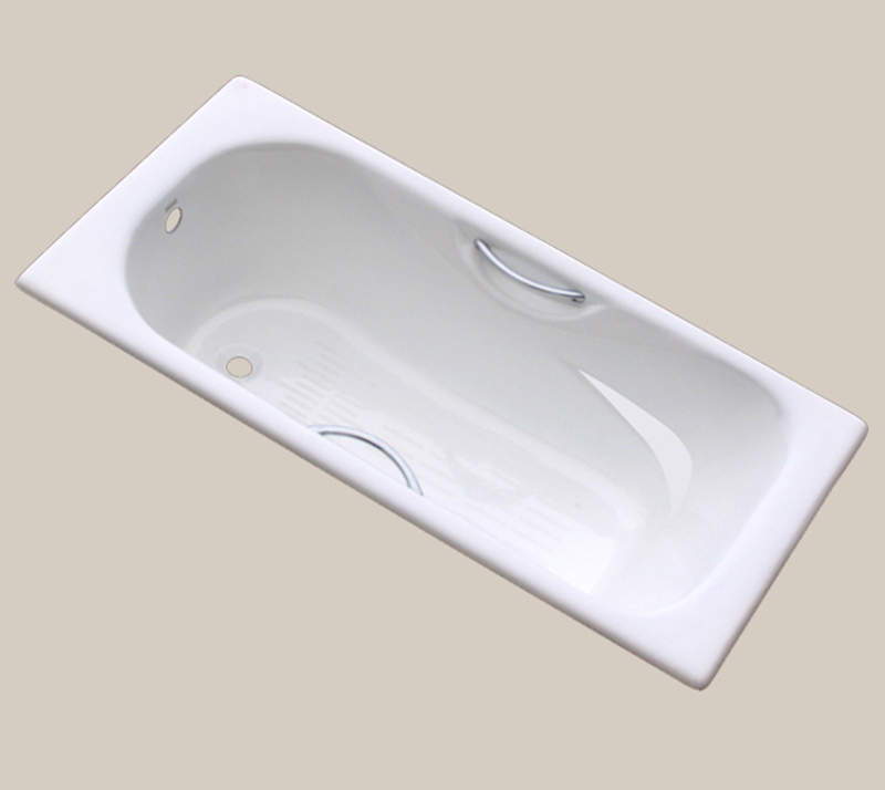 Cast Iron Bathtub with handles YX-106 1800×800×450mm