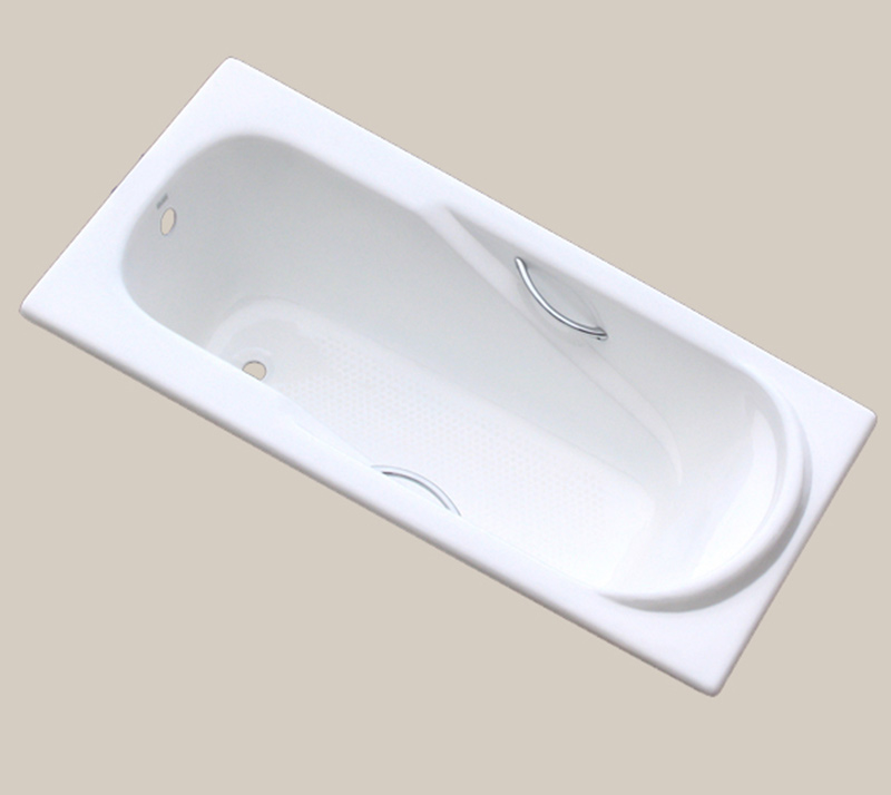 Casting pillow Drop In Cast Iron Bathtub YX-109