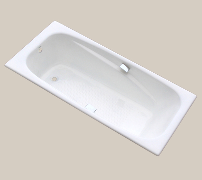 Drop In Cast Iron Soaking Bathtub YX-111 1800×850×420mm
