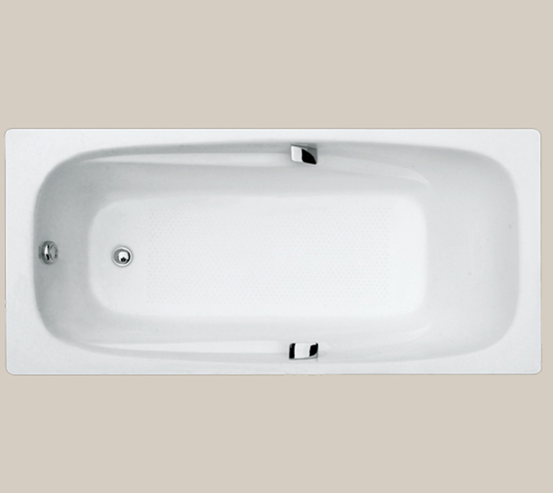 Drop In Cast Iron Soaking Bathtub YX-111 1800×850×420mm