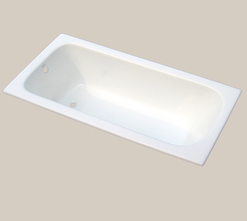 Classic deeper  Cast Iron Bathtub YX-116 1800×800×490mm