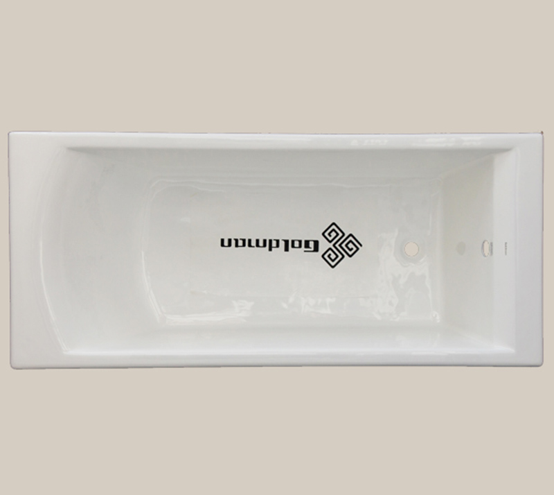 Drop In Cast Iron Bathtub YX-118