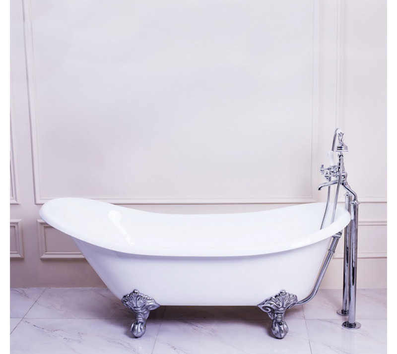 Single Slipper Clawfoot Bathtub YX-005