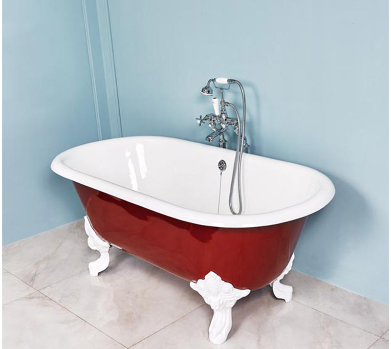 Cast Iron Double ended toll top Bathtub YX-007