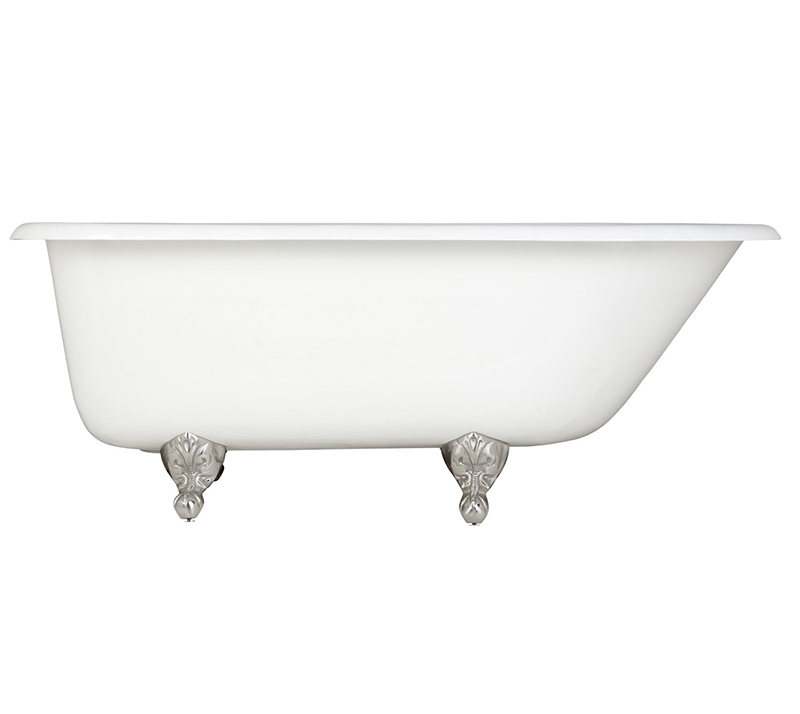 Roll Top Cast Iron Bathtub YX-010