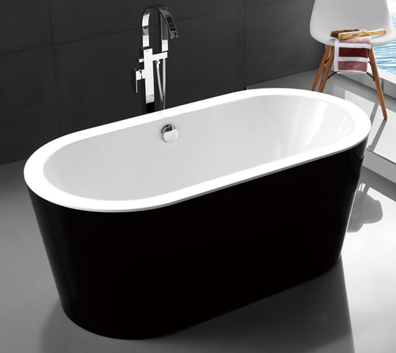 Solid Surface Modern Freestanding Bathtub , High Back  Freestanding Tub YX-715K